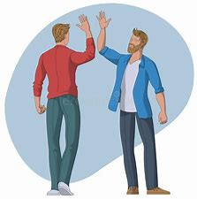 Image result for Casual Greeting cartoon