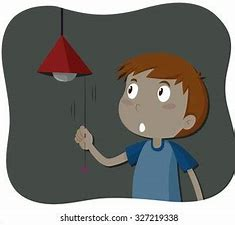 Image result for Lights Out Cartoon